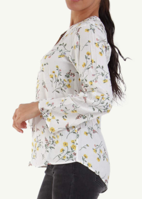 ELLIE - Patterned Shirt - Floral