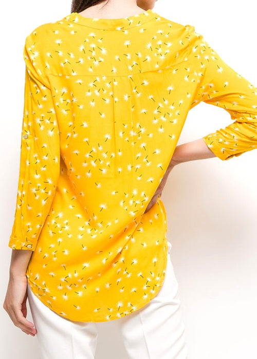 LUCIA - Floral Patterned Blouse - Freesia