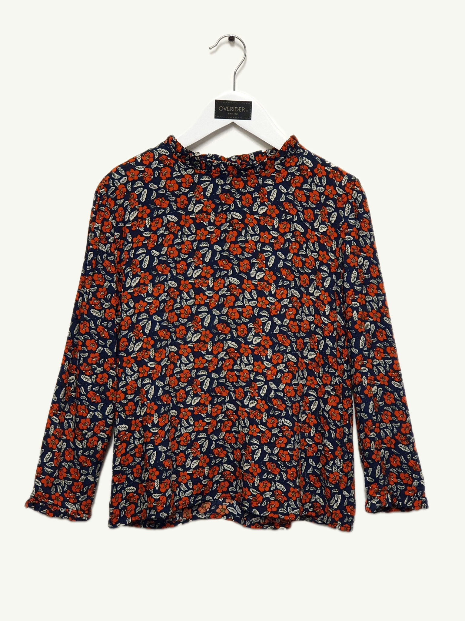 CAMILLE - Girls Floral Blouse