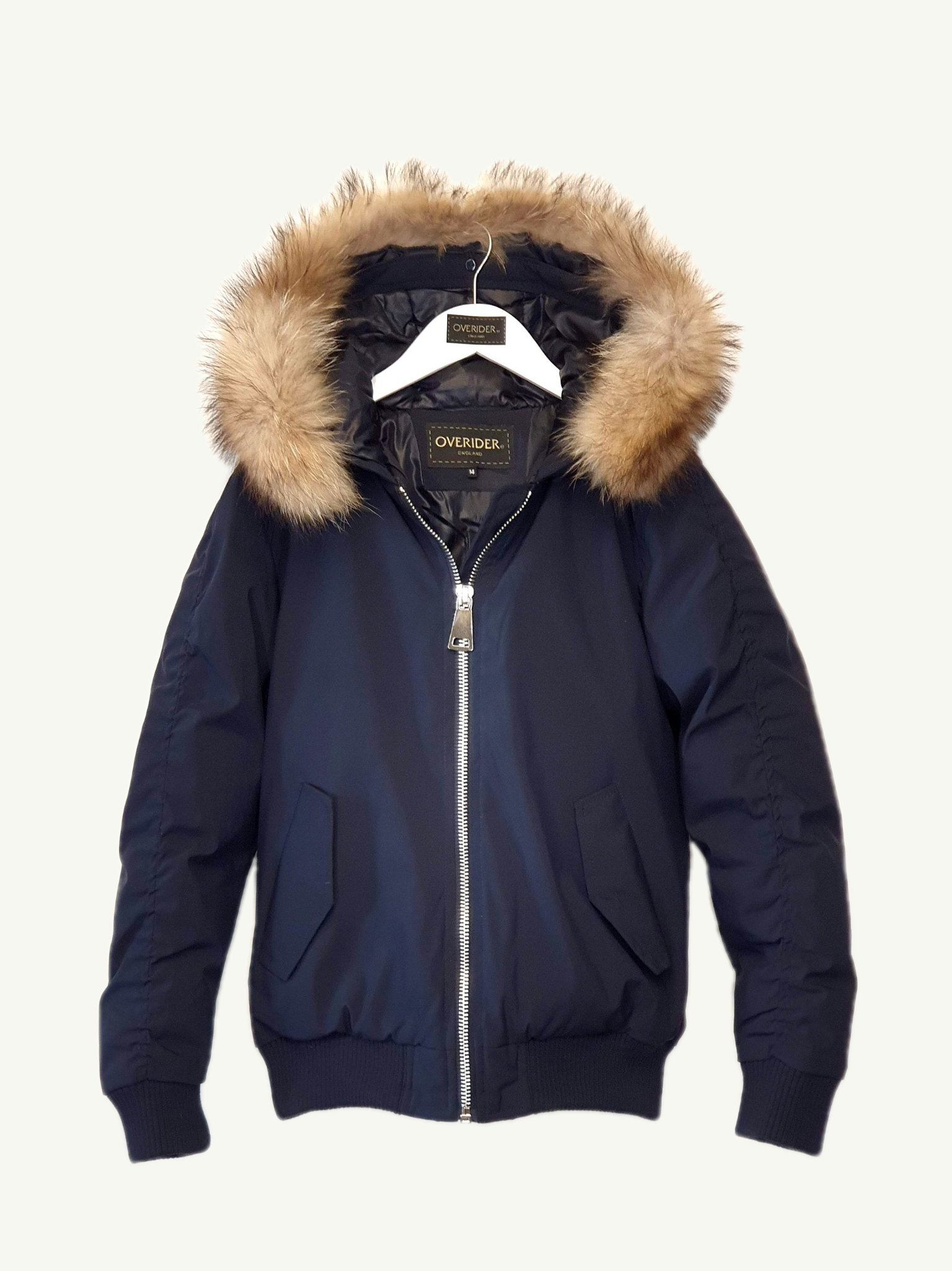 OCEANE - Girls Hooded Winter Jacket