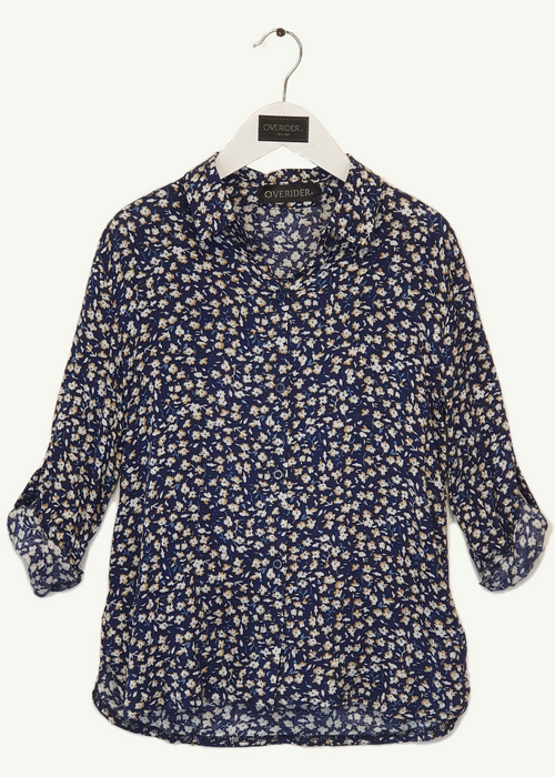 ELODIE - Girls Floral Shirt