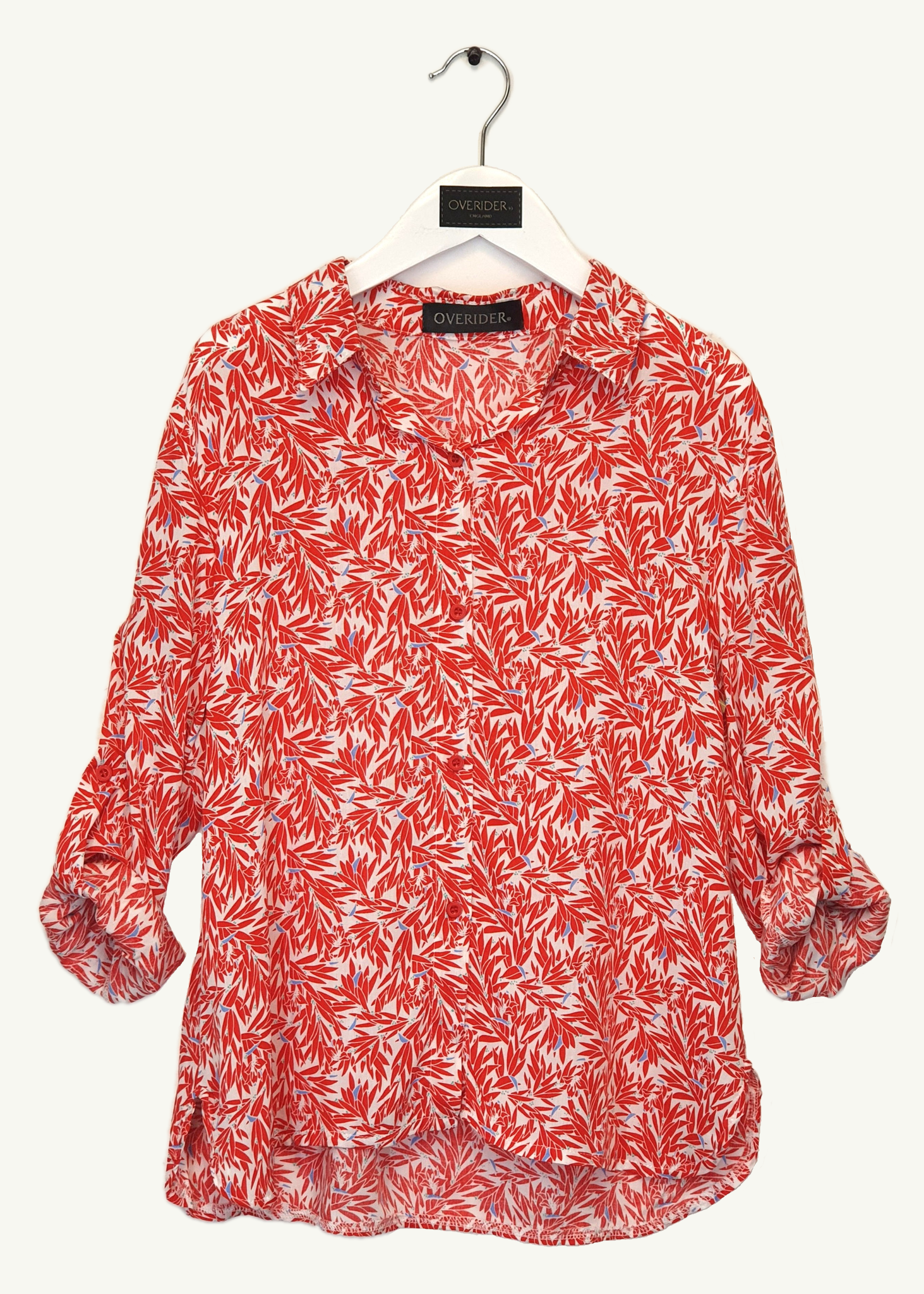 VIOLETTE - Floral Girls Shirt