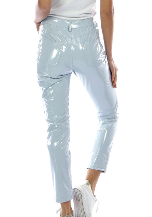 MILLIE - Gloss Jeans - Pale Blue