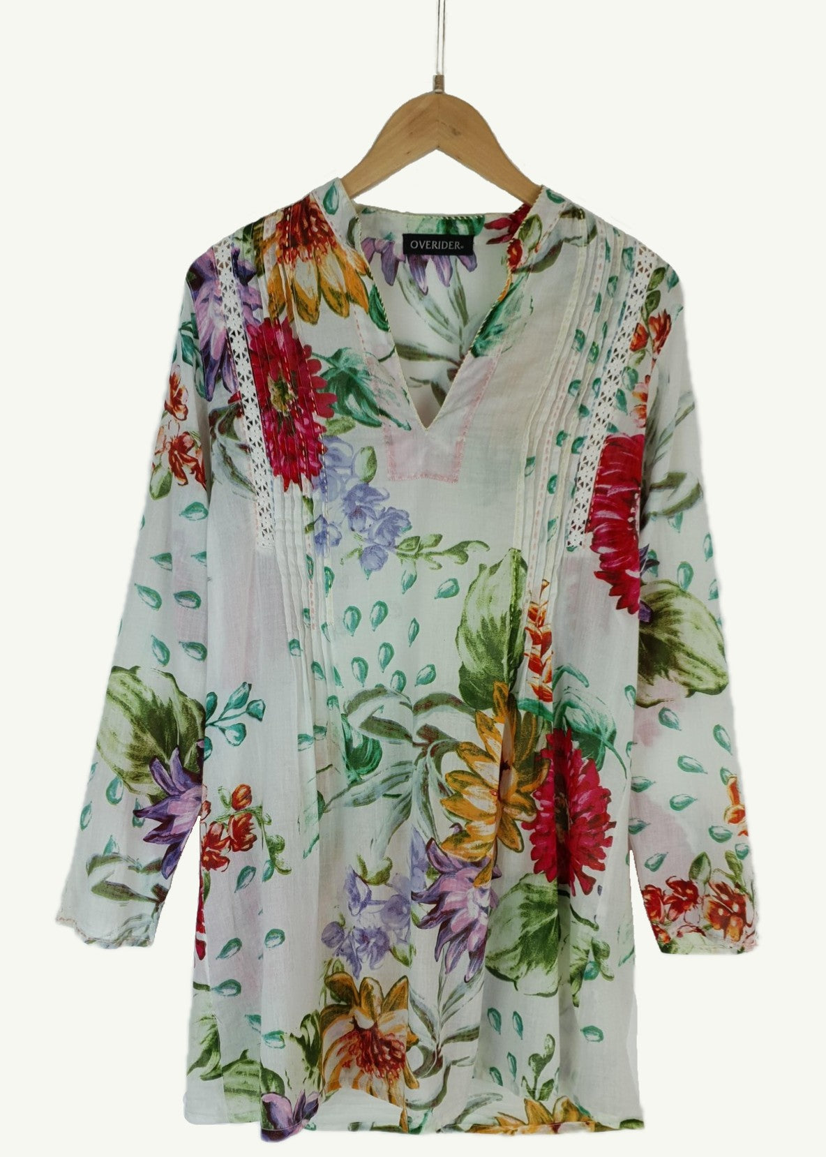 JULIETTE - Floral Cotton Tunic