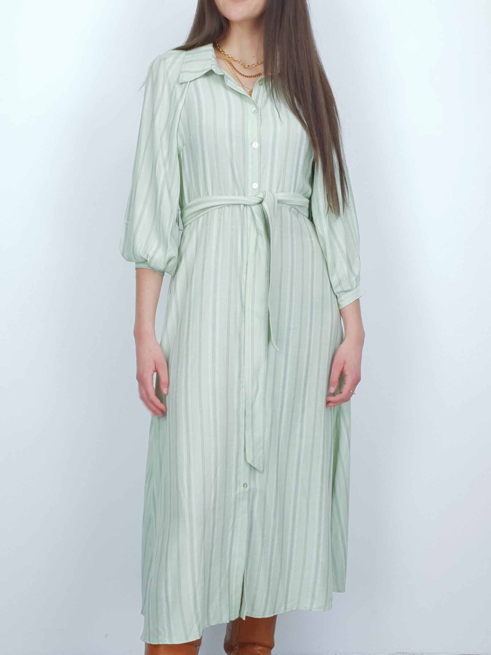 NEW | DOMINIKA | Summer Dress | Green Ash