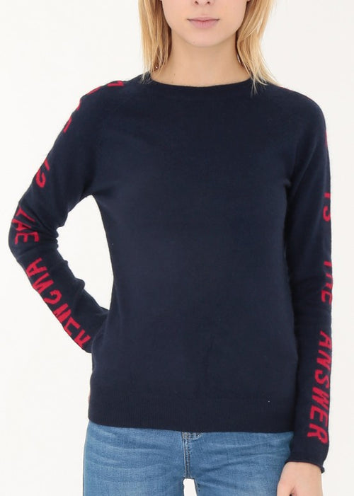 LOVE - Logo Sleeve Jumper