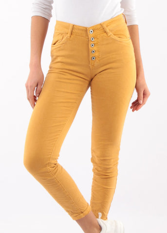 CALISTA - Tricolour Stripe Jeans