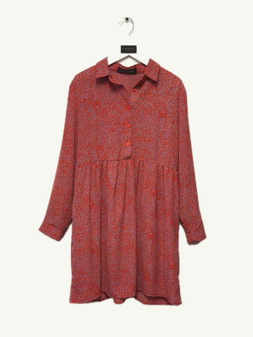 AGNES - Girls Patterned Dress