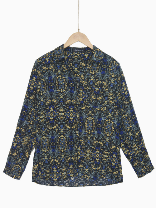 ZOFIJA - Patterned Shirt - Navy