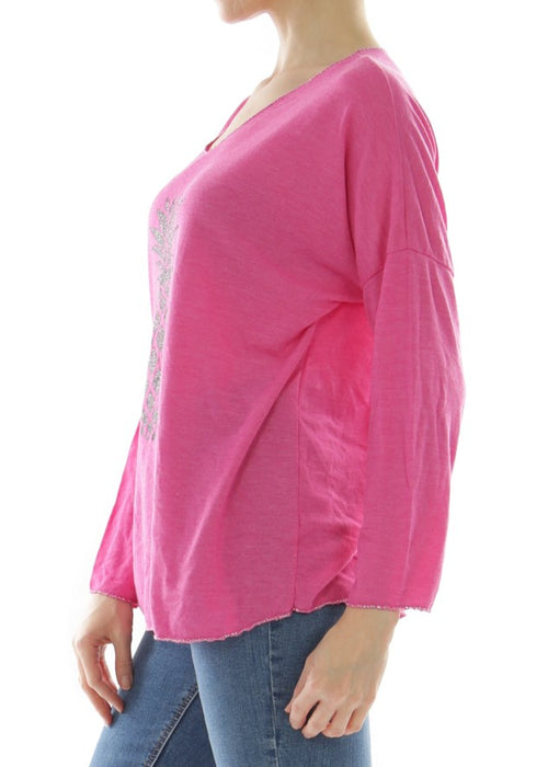LEELA - Pineapple Top - Fuschia