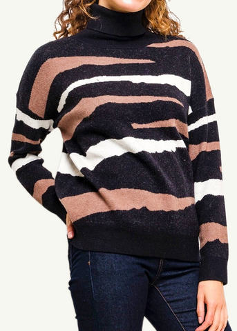 IVA - Animal Knit Jumper