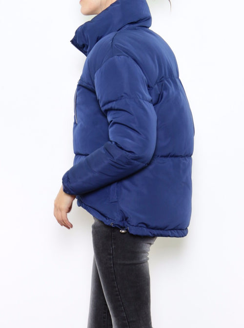 KASIA - Quilted Jacket - Blue