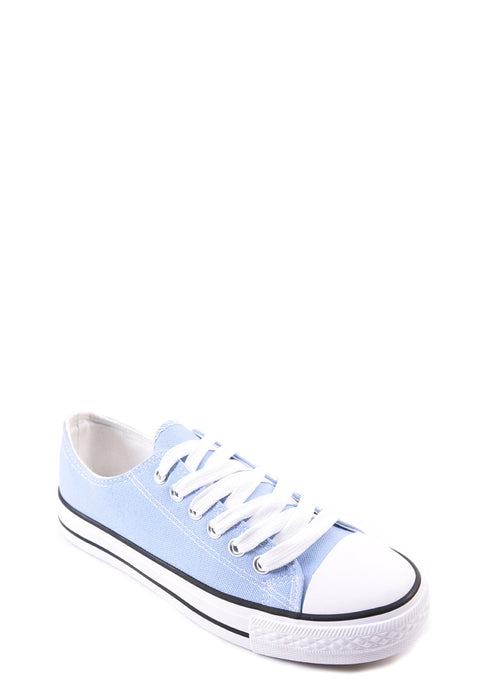 ERIN - Low Top Sneakers - Cornflower