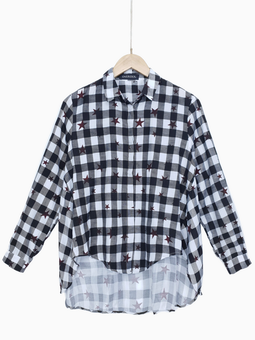 Star Shirt | Flared Shirt