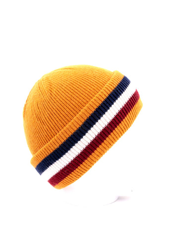 ANYA - Cashmere Bobble Hat - Navy