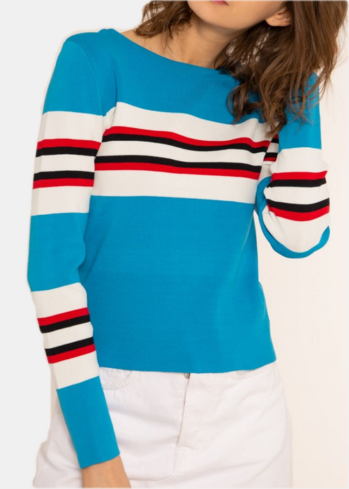 LIVIA - Striped Top