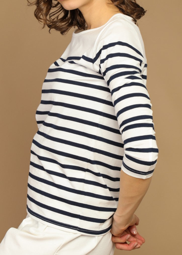 OLENA - Striped Top