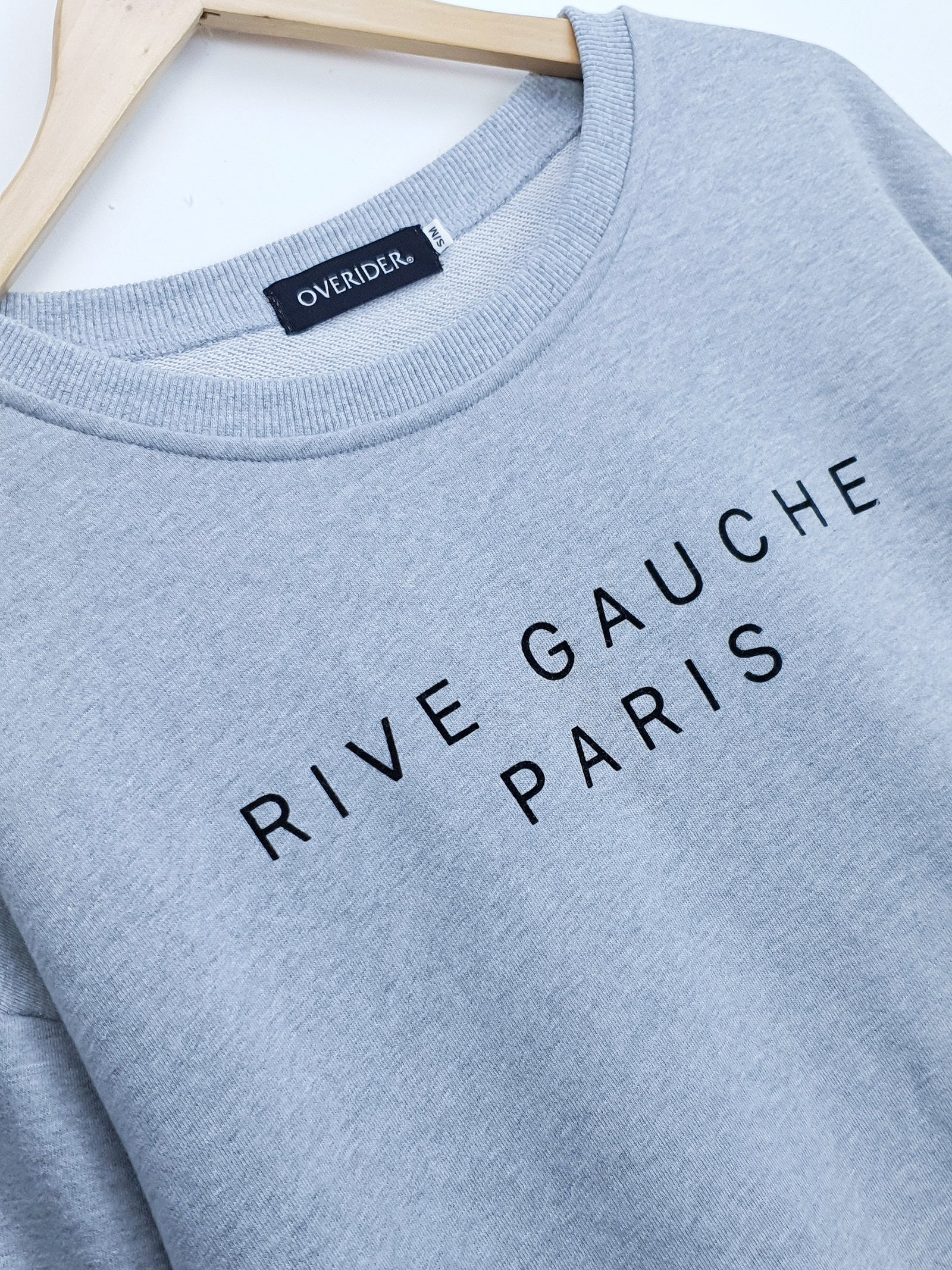 RIVE GAUCHE | Sweatshirt with Logo  | Grey