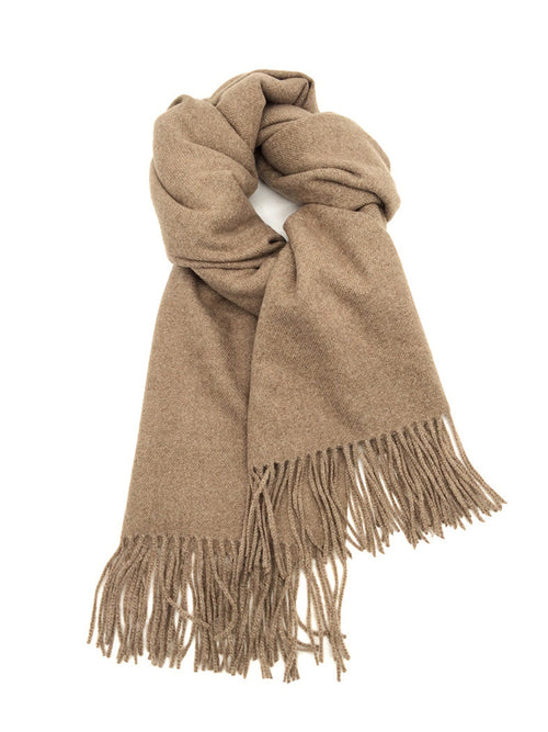 INESSA | Cashmere Blend Scarf | Taupe