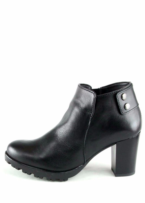 TORI - Leather Ankle Boots
