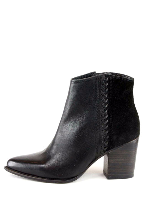 JENA - Leather Ankle Boots
