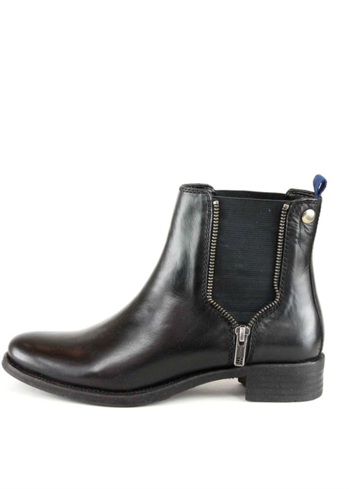 MILLY - Leather Ankle Boots