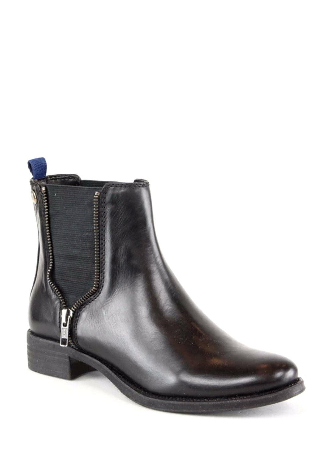 MILLY - Leather Ankle Boots - SOLD OUT