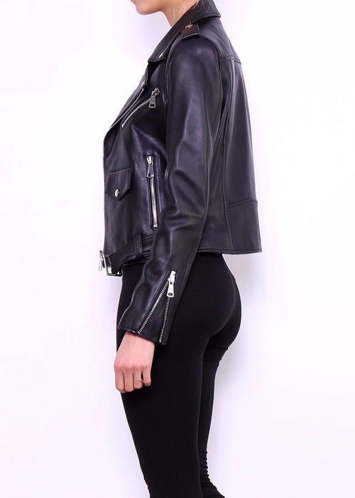 MATILDE - Leather Biker Jacket - SOLD OUT