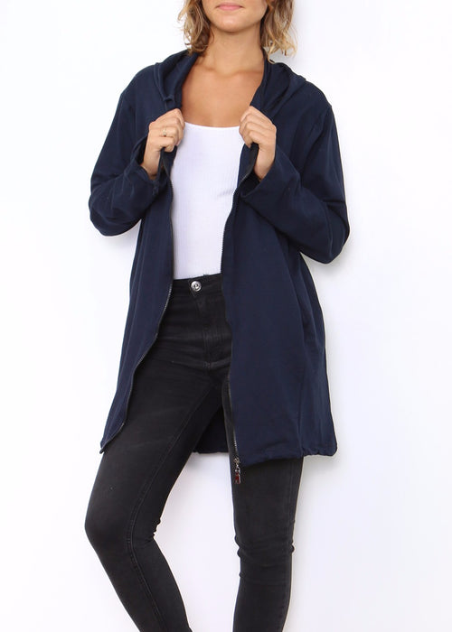 KASIA - Hooded Slouch Parka - SOLD OUT