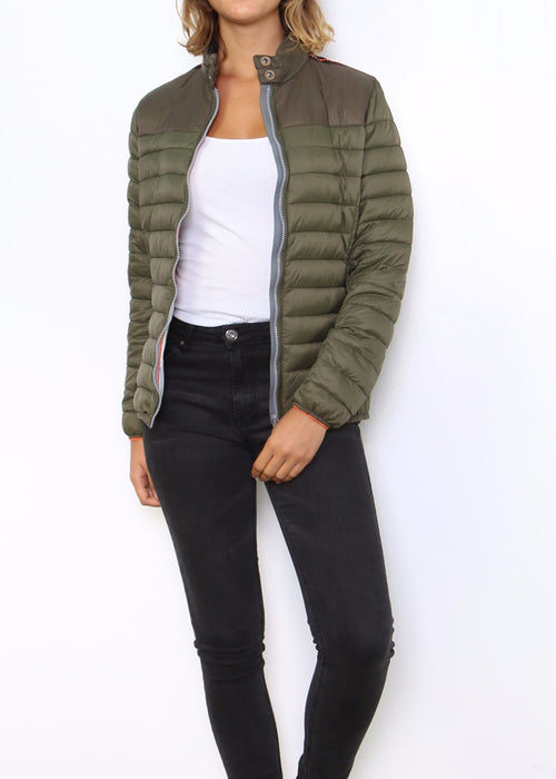 JENA - Quilted Jacket - Fern - SOLD OUT