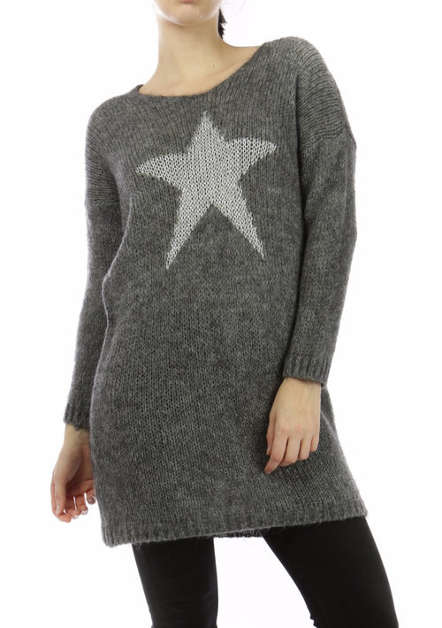 GRAZIA - Star Knit Tunic