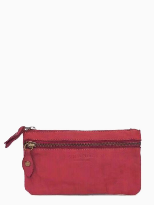 NAARA - Washed Leather Bag | Red