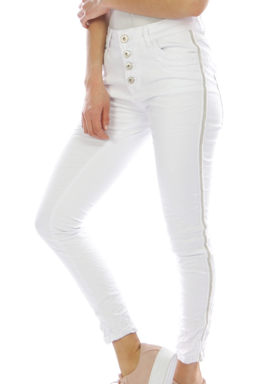 ISABEL Jeans - White