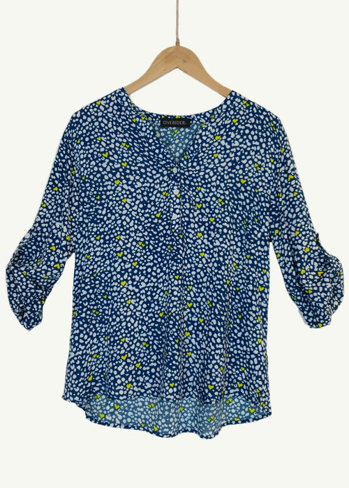 CHARLOTTE - Patterned Blouse