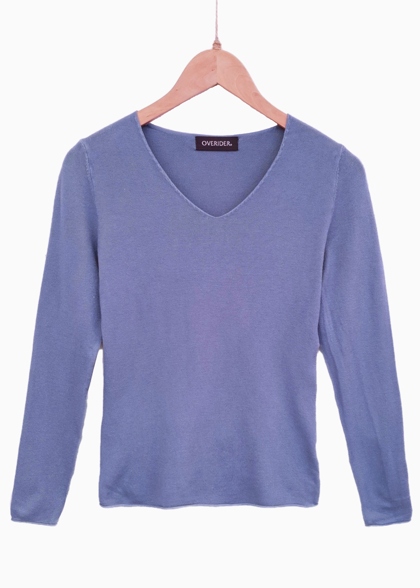 MILA - V Neck Jumper - Teal