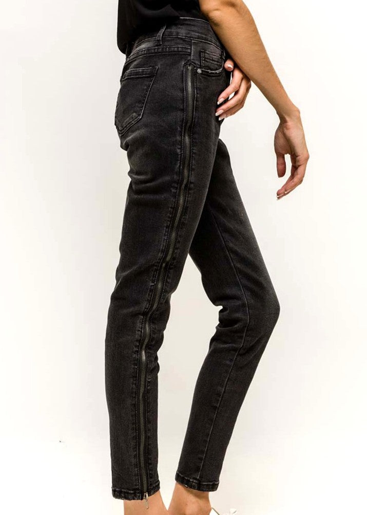 INES - Zip Sided Jeans