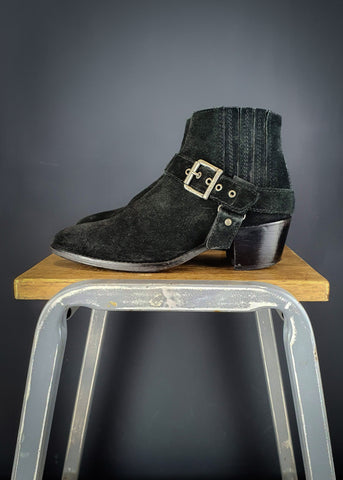 Preworn | Preloved <br> 'ZADIG & VOLTAIRE' <br>Teddy Boot <br> Size 6 UK