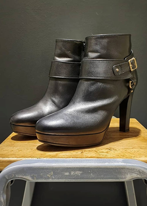 PREWORN | Preloved - 'RUSSELL & BROMLEY' Ankle Boot - Size 6 UK