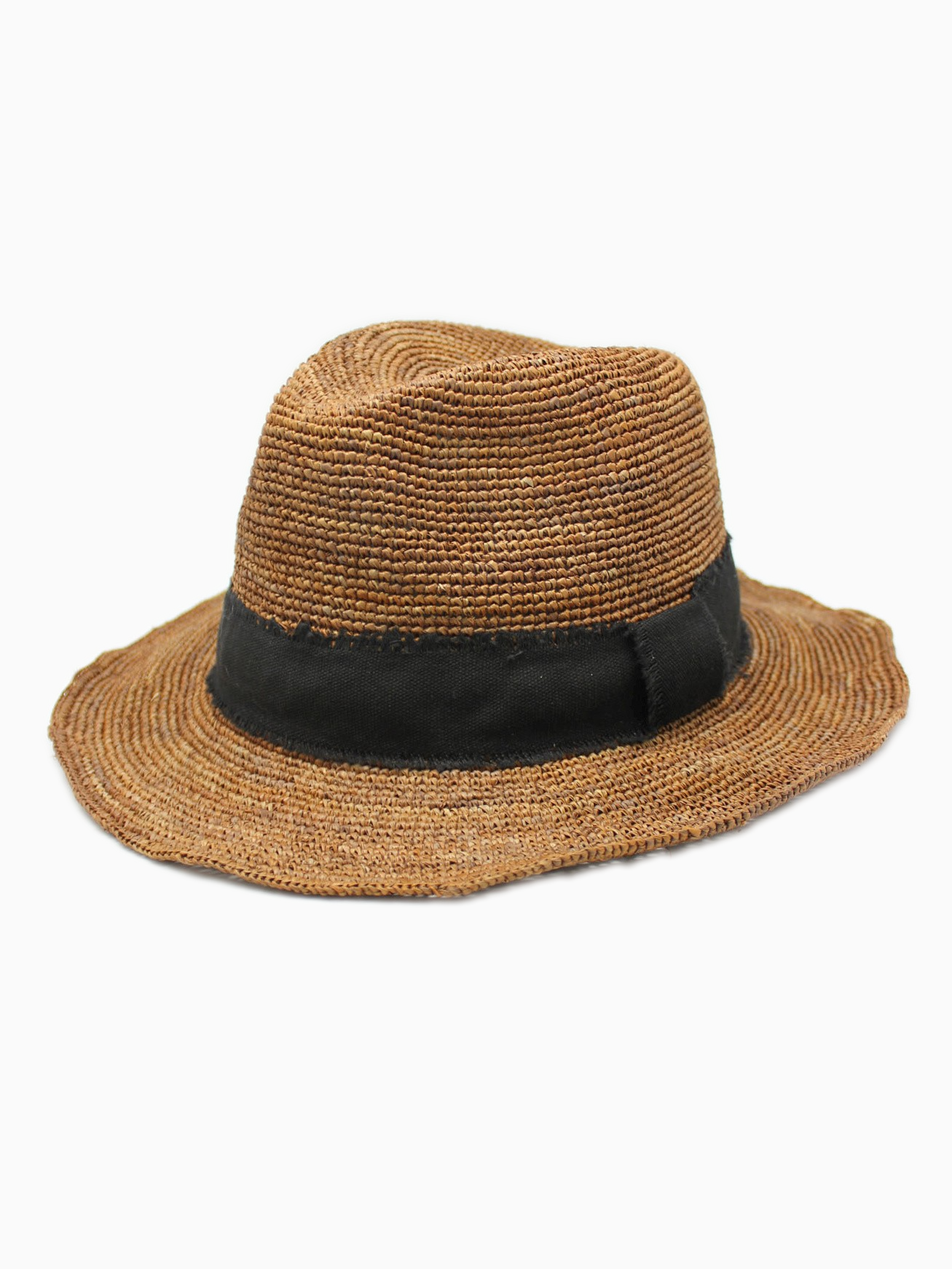 ALICE | Straw Summer Hat | Dark Camel