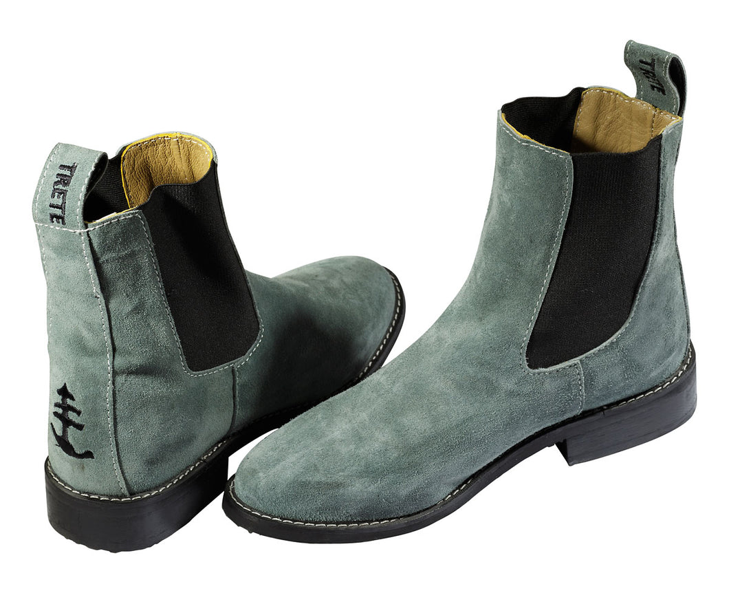 Womens Trete Suede Chelsea Boots