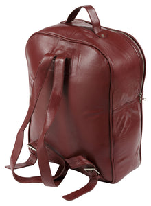 Trete Leather womans Rucksack