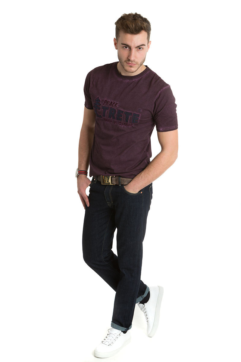 Men's Purple Trete Tee