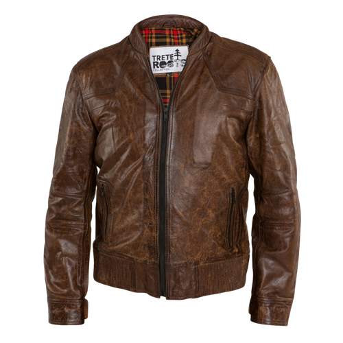 Mens Cafe Racer Brown