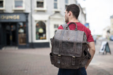 Trete Dark Brown Rucksack