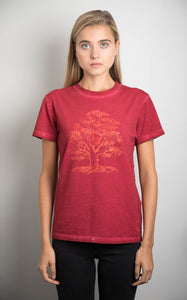 Womens Red Trete Of Life Tee