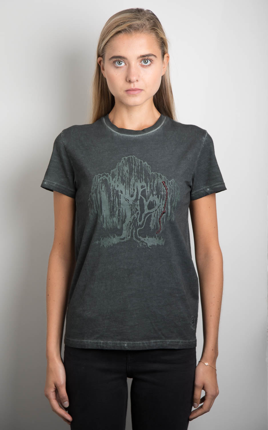 Womens Charcoal Trete Of Soul Tee