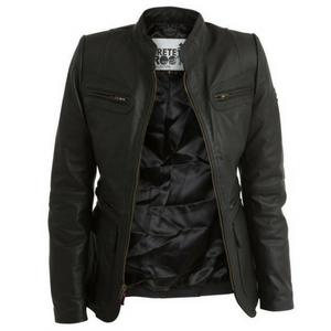Women's Trete Leather Jacket