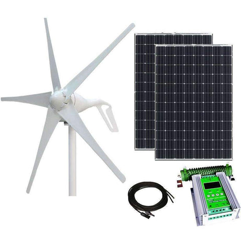 600W Wind and Solar Hybrid Kit