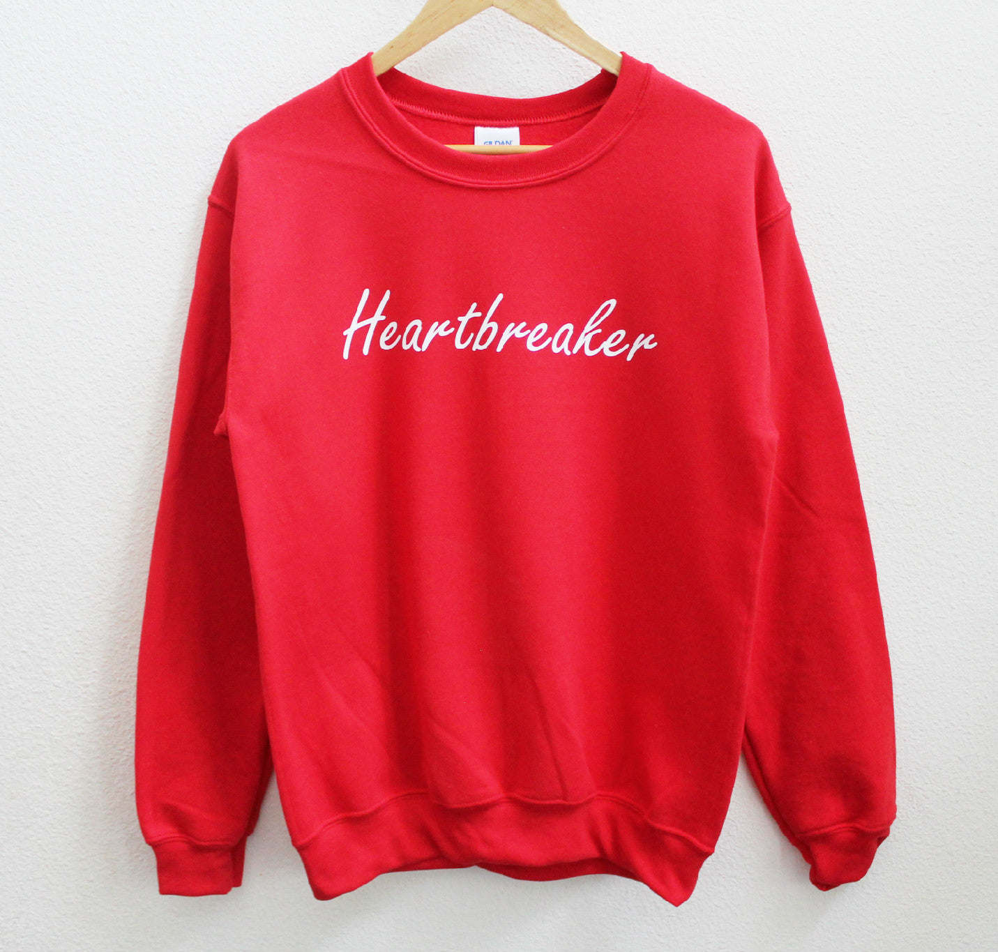 Heartbreaker Red Sweatshirt