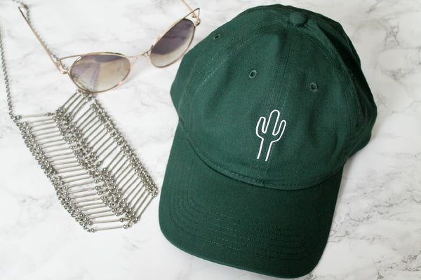 Cactus Dark Green Baseball Hat